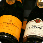 Veuve Clicquot Ponsardin and Taittinger Champagnes